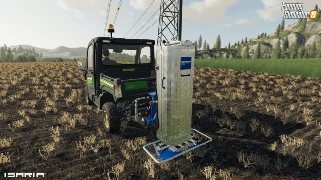 Virtuelle Bodenproben im Landwirtschaftssimulator mittels ISARIA SCOUT